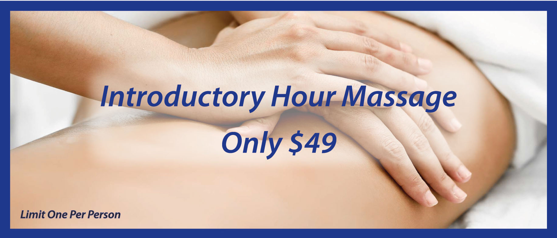 Introductory Massage in Charlotte