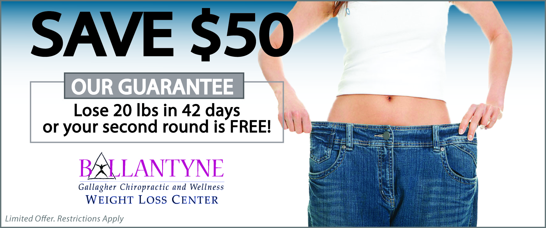 Save $50 at Ballantyne Weight Loss Center in Charlotte